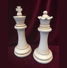 Chess Piece Statues