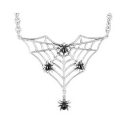 Spider Web 925 Silver Pendant