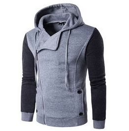 Oblique Zipper Slim Assassin Creed Hoodies Sweatshirt Tracksuit