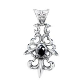 Baroque 925 Silver Pendant