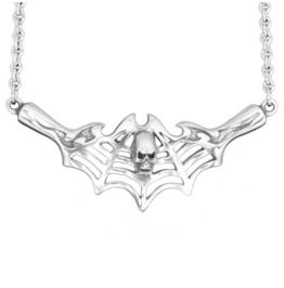 Deadly Web Pewter Pendant