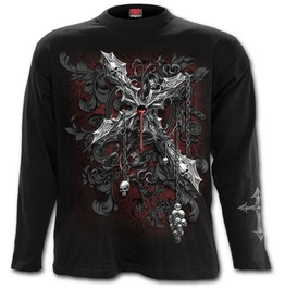 Cross Of Darkness Longsleeve T Shirt Black