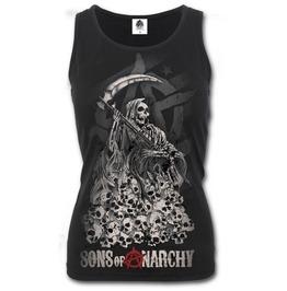 Sons Of Anarchy Razor Back Top Black