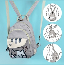 Cat Backpack / Mochila Gato Wh484