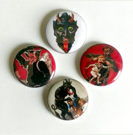Krampus Magnet Set