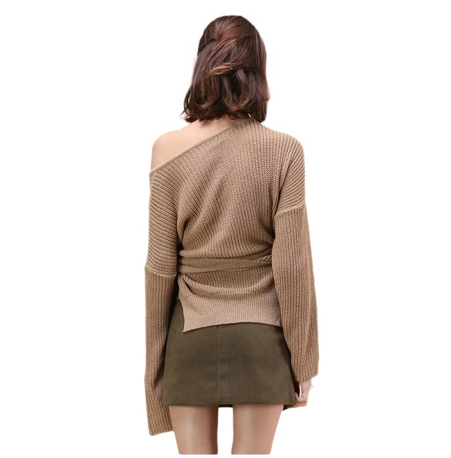 rebelsmarket_irregular_tie_up_buckle_khaki_sweater_womens_hoodies_and_sweatshirts_5.jpg