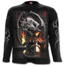 Keeper Of The Fortress Longsleeve T Shirt Black