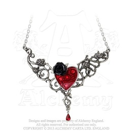 The Blood Rose Heart Pendant