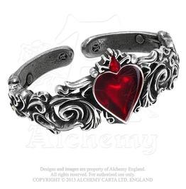 Betrothal Gothic Heart Bracelet