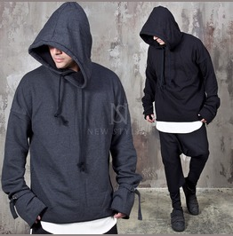 Extra Long Sleeves Big Hoodie 156