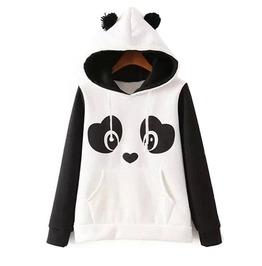 Panda Hoodie Sudadera Wh493