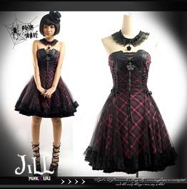 Goth Lolita Princess Diary Coronation Crown Corset Dress Choker Jpq120 Pn