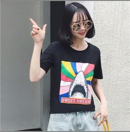 Shark T Shirt / Camiseta Tiburón Wh496