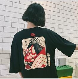 Kabuki Samurai T Shirt Camiseta Wh497