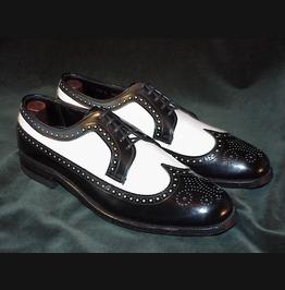 Men Wingtip Formal Shoes, Men Brogue Spectator Shoes, Men Dress Shoes