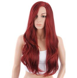 26 Inches Long Natural Wave Synthetic Wig Women