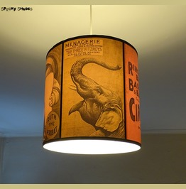 Elephant Circus Ceiling Pendant Lamp Shade Lampshade Bohemian Decor