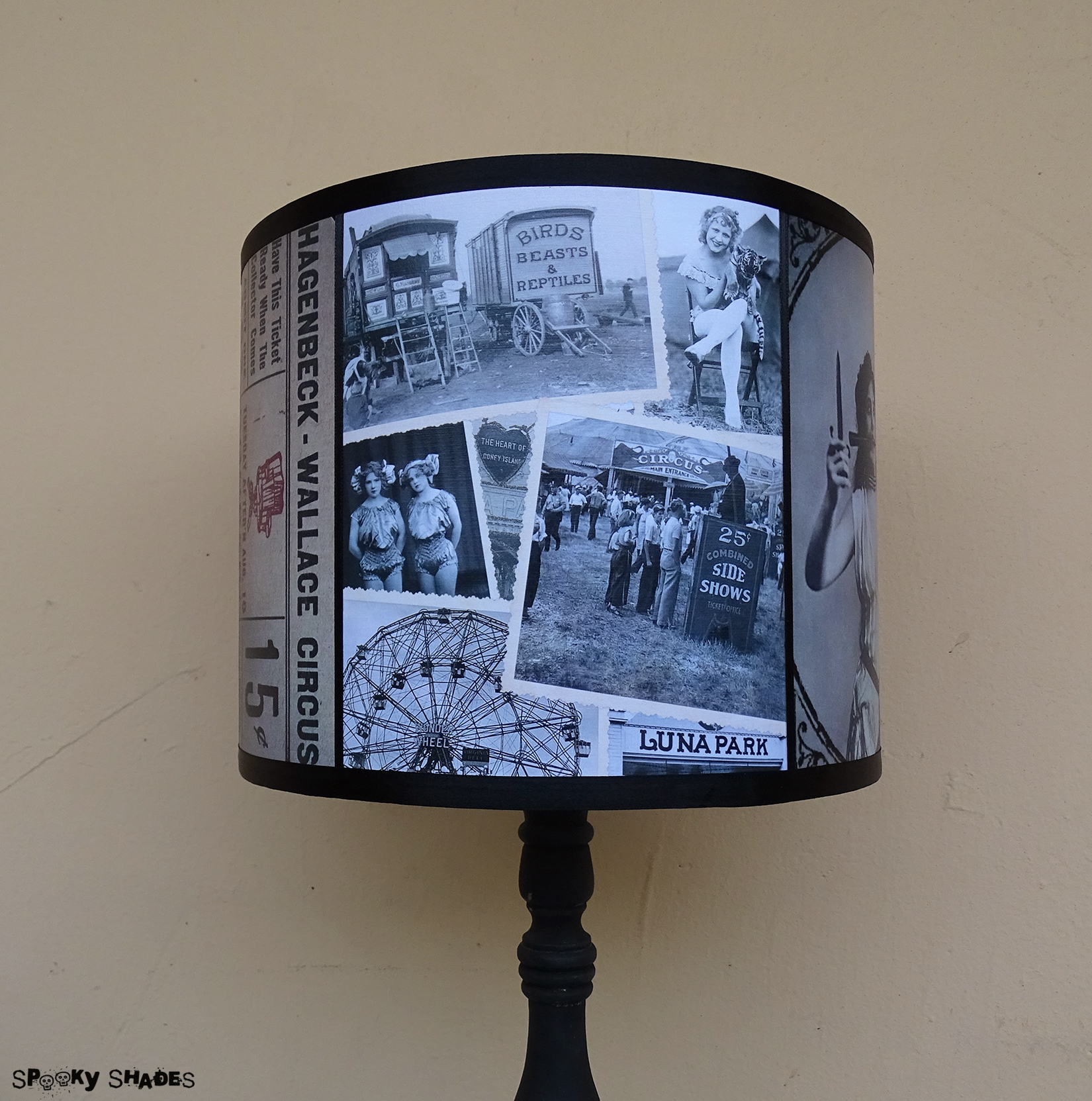 drum lamp shade slip uno fitter. slip uno fitter lamp shade canada by circus performer black and white unique drum lampshade n