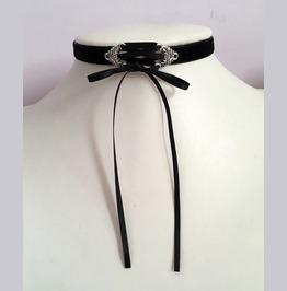 Black Corset Velvet Choker
