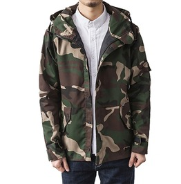 Hooded Military Camouflage Tactical Outerwear Jacket Men