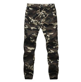 Camouflage Military Pants Men Camo Joggers
