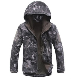 Waterproof Windproof Camouflage Hooded Military Tactical Jacket Men