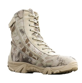 Military Tactical Boots Autumn Winter Waterproof Pu Leather Army Boots