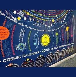 Cosmic Calendar 2018 Astrology Calendar