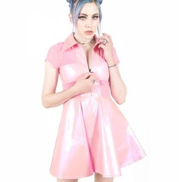 Iron Fist Unholy Communion Skater Dress (Baby Pink)