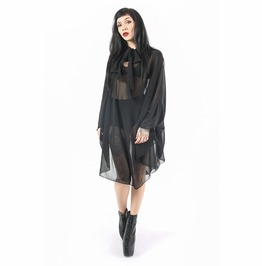 Iron Fist Deathwish Batwing Dress (Black)