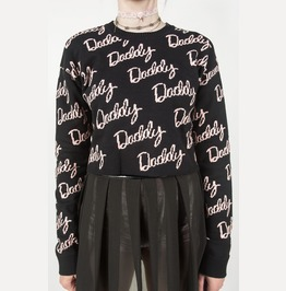 Iron Fist Daddy Jacquard Sweater (Black)