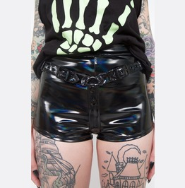 Iron Fist Chastity Strap Shorts (Black)