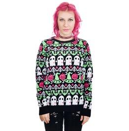 Cult Sweater Hocus Pocus Bats, Ghosts & Pumpkins