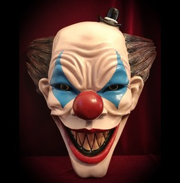 Killer Clown Head Wall Mount