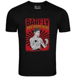 "Barfly Apparel ""Bar Room Hero"" Men's Black Tee"