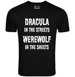 "Barfly Apparel ""Dracula In The Streets"" Men's Black Tee"