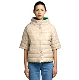 Autumn Warm Winter Solid Color Cotton Quilted Coat Women