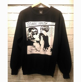 Sonic Youth Band Jumper Sweatshirt T Shirt Unisex Size M,L