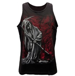 "Barfly Apparel ""Grim Reaper"" Men's Black Tank"