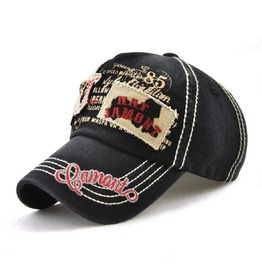 Unisex's Human Skeleton Patch Embroideried Outdoor Baseball Cap