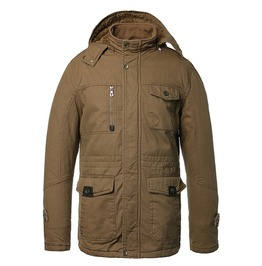 Hooded Cotton Thick Winter Military Jacket Men