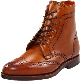 Handmade Tan Brown Wingtip Brogue Lace Up Ankle Boots, Men Fashion Boots