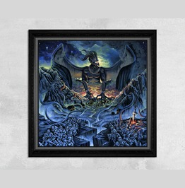 Demon Attacking A Kingdom Print