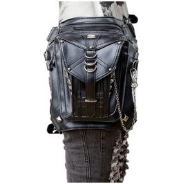 Steampunk Messenger Cross Body Fanny Waist Pack Shoulder Bag Leg Bag