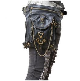 Steampunk Womens Waist Chest Bag Club Party Leg Bags