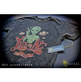 Peace Not Alone, T Shirt, By 5 Area1, Our Sister Brand, Men's/
