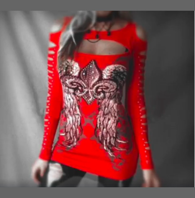 rebelsmarket_sexy_punk_hollow_out_long_sleeve_top_dress_black_red_t_shirts_4.png