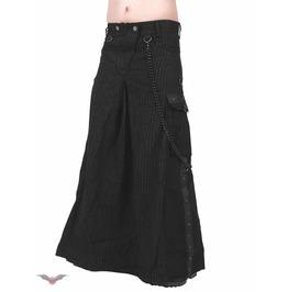 Long Skirt Black Chains