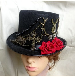 New Steampunk Top Hat Party Costume Accessory