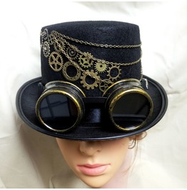 Custom Made Steampunk Top Hat For Women/Men